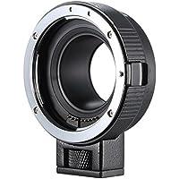Andoer EF-EOSM レンズマウントアダプター サポート自動露出・オートフォーカス・自動絞り for Canon EF/EF-S シリーズ レンズ → EOS M EF-M M2 M3 M10 カメラ