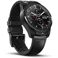 Ticwatch Pro スマートウォッチ 長い待機時間 二つモード 腕時計 心拍計 GPS 健康管理 歩数計 着信/Line /メール通知 防水/防塵 音声操作 Wear OS by Google iPhone/Android対応 日本語対応