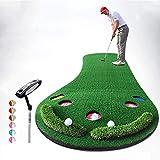 QAZ拡大ゴルフパッティング/練習マット個人練習マット屋外/屋内レジャー簡単折りたたみ