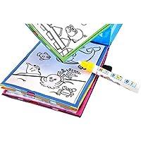 ペイント玩具、littleice魔法水図面帳Coloring Book Doodle Magicペン動物ペイント