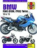BMW F800 (F650, F700) Twins: '06 to '16 (Haynes Service & Repair Manual)