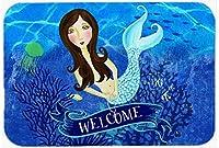 Caroline's Treasures Welcome Mermaid Mouse Pad Hot Pad or Trivet Multicolor (VHA3010MP) [並行輸入品]