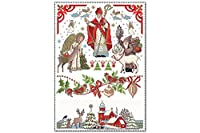 冷蔵庫用マグネット Fridge Magnet Christmas Retro Lindner Advent Christmas