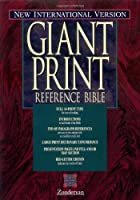 Giant Print Reference Bible: Ner International Version Burgundy Imitation Leather