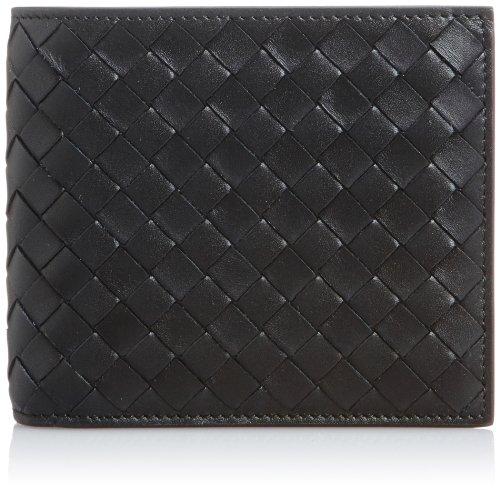 [ボッテガヴェネタ] BOTTEGA VENETA 二つ折り財布(小銭入れ付)【並行輸入品】 193642-V4651 1000 (ブラック)