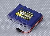 【受信機用電池】ニッケル水素NiMH電池 2300mAh 6.0Vパック◆TURNIGY