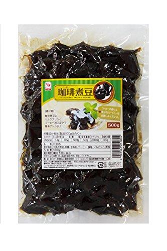 カモ井食品 珈琲煮豆 500g袋×4個