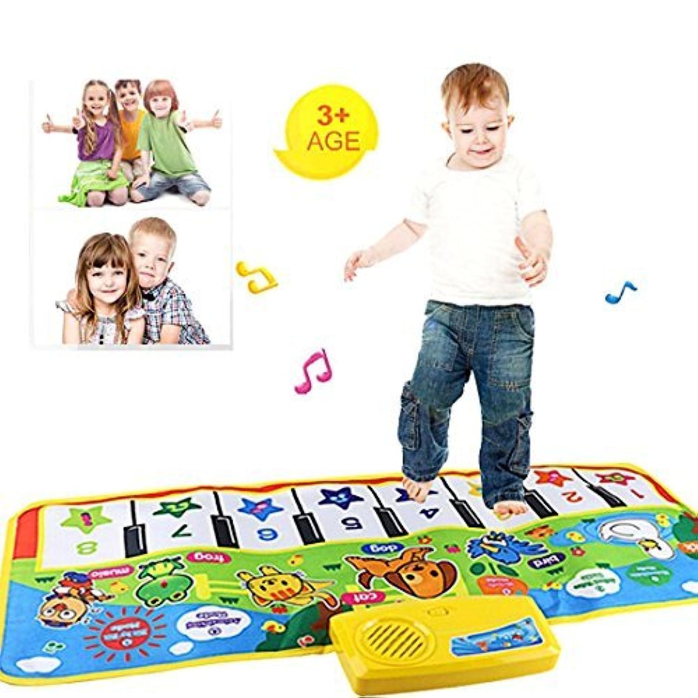 教育おもちゃ、baomabaoタッチ再生キーボードミュージカルSingingジムカーペットマットキッズ赤ちゃんギフト