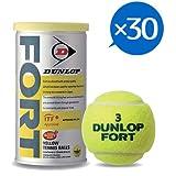 DUNLOP(ダンロップ) 硬式テニスボール SAFETY TOP FORT [ フォート缶 ] 1ケース30缶