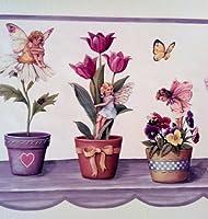 花 蝶 妖精 壁紙 ボーダー 紫色 ヒマワリ チューリップ デージー パンジー・・・
