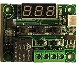 温度 サーモ スイッチ スタット センサー ヒーター 換気扇 DC12V デジタル 防水 ミニ