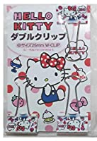 サンリオ ハローキティ Sanrio Hello Kitty Doubleペーパークリップ3個セットピンチ2.5 CM Office Stationery