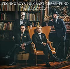 Book-end, Happy-end♪TECHNOBOYS PULCRAFT GREEN-FUND feat. 高野寛のCDジャケット