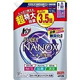 【大容量】トップ スーパーナノックス ニオイ専用 洗濯洗剤 液体 詰め替え 超特大1230g