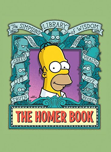 Download The Homer Book (Simpsons Library of Wisdom) 0061116610