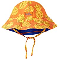 UV SKINZ UPF 50+ Baby Boy Reversible Sun Hat Washed Pineapple