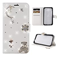 Asus Zenfone Max (M1) ZB555KL Case, Moonmini Asus Zenfone Max (M1) ZB555KL Leather Wallet Case Book Design with Flip Cover and Stand [Credit Card Slot] Cover Case for Asus Zenfone Max (M1) ZB555KL -