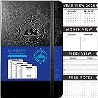 The Art of Planning 12ヶ月 未日付 5インチ x 8インチ 個人用オーガナイザー プランナー A5 2020-2021