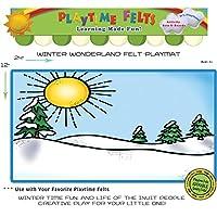 Winter WonderlandフェルトPlaymat