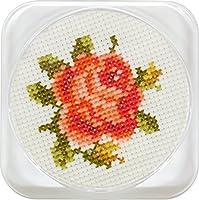 ルシアン フラワーコースター バラ(オレンジ) 6421
