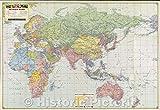 歴史的な地図 | Esso War Map II 世界の島、フォートレスヨーロッパ、1943年 | ヴィンテージポスターアート壁飾り | 64in x 44in 5172675_6444_OSH