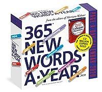 365 New Words-a-Year 2020 Calendar