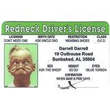 Redneck Fun Fake ID License by Signs 4 Fun [並行輸入品]