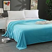 inverleeフランネルフリース毛布ソフトCozy Plush Solid Blanket Throw Blanketソファ/ソファ/ベッド
