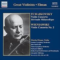チャイコフスキー/ヴィエニャフスキ:ヴァイオリン協奏曲(エルマン)(1929, 1950)