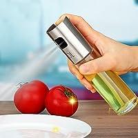 油スプレー オイルスプレー 調味料入れ 100ml ステンレス オイルミスト 調理器具 オイル 容器 酢/油/醤油/調味料/化粧水用 霧吹き  バーベキューに適用