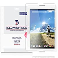 Acer Iconia One 10スクリーンプロテクター( b3-a20 ) [ 2 - Pack ]、iLLumiShield – Japanese Ultra Clear HD Film with気泡防止、指紋防止Invisible Shield