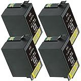 ICBK76 4個セット染料増量タイプEPSON(エプソン)対応 高品質互換インクカートリッジ ICチップ付残量表示機能対応(JAN:4571498425096)