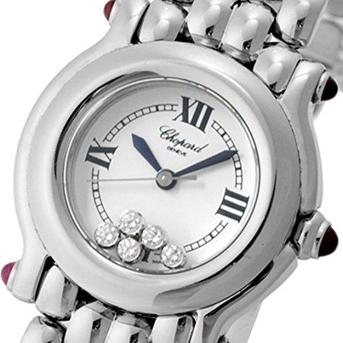 [ショパール] Chopard 腕時計27/8250-21ハッピースポーツ ホワイト5Pラウンドダイヤ ルビー SSクォーツ[中古品] [並行輸入品]
