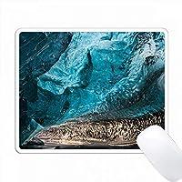 氷河の洞窟、Breidamerkurjoekull氷河、Vatnajoekull NP、アイスランド PC Mouse Pad パソコン マウスパッド