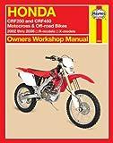 Honda CRF250 and CRF450 Motocross & Off-road Bikes: 2002 thru 2006 R-models, X-models (Owners' Workshop Manual)