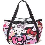 【B8-2】 Hello Kitty ハローキティ 限定40周年 マザーズバッグ トートバッグ マザーズトートバッグ (4032)