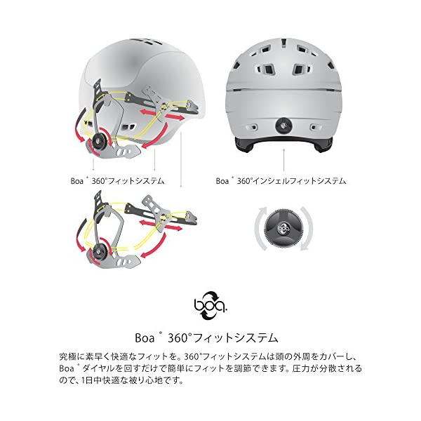 Anon(アノン) ヘルメット スキー スノー...の紹介画像7