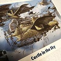 スタジオジブリ 天空の城ラピュタ 限定 ポストカード ジブリの大博覧会 ジブリカード