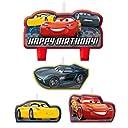 Cars (カーズ) ケーキデコレーション バースデー キャンドル 4つセット