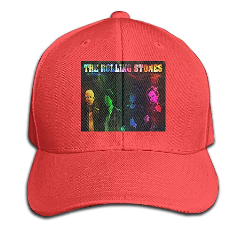 幸運なカート研究人気のアヒルの舌形の帽子 音楽Rolling Stones 野球帽、釣り帽、トラベルキャップ