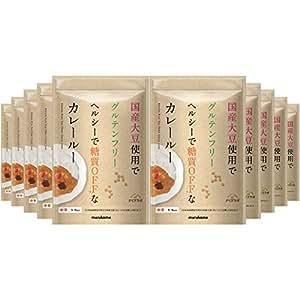 マルコメ ダイズラボ 大豆粉のカレールー 120g×10個