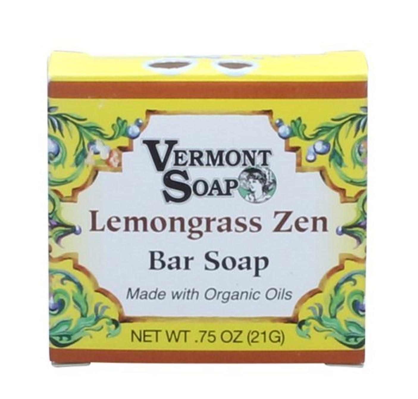 頑固な良い抑圧するバーモントソープ オーガニックバーソープ トラベルサイズ (レモングラス)