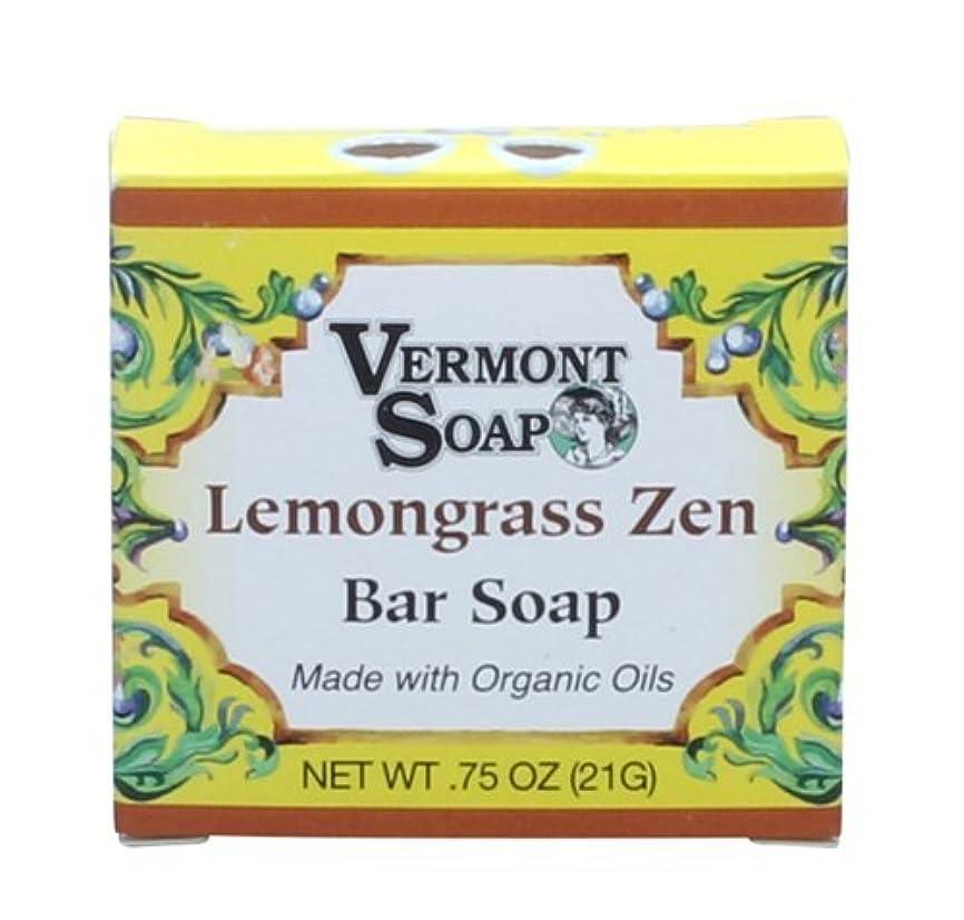 作りうんざり呼ぶバーモントソープ オーガニックバーソープ トラベルサイズ (レモングラス)