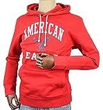(アメリカンイーグル)パーカー メンズ プルオーバー ロゴ メンズ american eagle 1515-6054-red フード 正規[S] [並行輸入品]