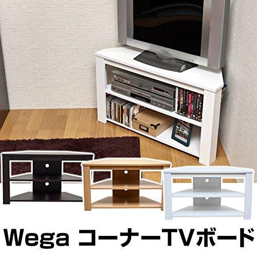 コーナーテレビ台 テレビボード 【幅80cm:24型~32型...