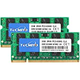 TECMIYO 4GB キット (2x2GB) DDR2 Sodimm 667Mhz PC2-5300 PC2-5300S ECC非バッファード 1.8V CL5 2RX8 デュアルランク 200ピン ノートパソコン ノートパソコン メモリー RAM