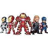 Kids Nations Series 005 Avengers: Age of Ultron イヤホンジャック アクセサリー ABS製 トレーディングストラップ 5個入りBOX