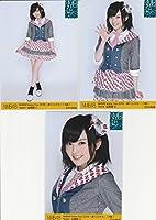 NMB48 公式生写真 Arena Tour 2015 遠くにいても 大阪 3枚コンプ【山本彩】