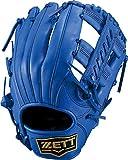 ZETT(ゼット) 軟式野球 グラブ(グローブ) デュアルキャッチ オールラウンド用 左投げ用 ブルー(2300) サイズ:5 BRGB34030