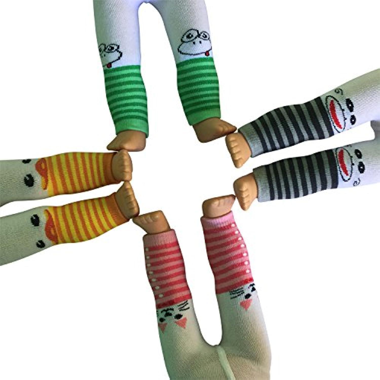 Set of 4 Animal Printed leggings for Dolls - Leggings for 18 inch Dolls